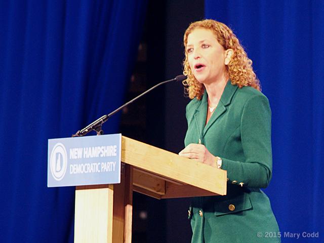 0 - DNC Chairwoman Debbie Wasserman Schultz
