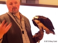 Science Center Executive Director Iain MacLeod with Osprey