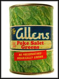 Allens Poke Salet Greens