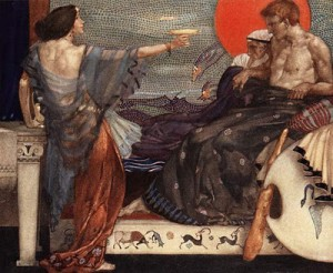 Medea, painting by William Russell Flint